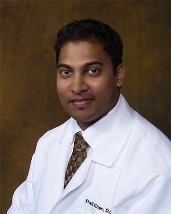 Dr. Khalil Khan, D.O., M.P.H., F.A.C.P., is an internal medicine doctor in Fort Lauderdale, Florida. He is currently licensed to practice medicine in Florida. He is affiliated with Broward Health Medical Center, Plantation General Hospital, and Westside Regional Medical Center.